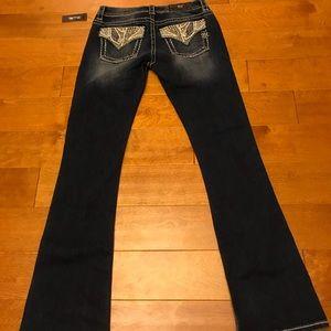 Miss me rhinestone women jeans 28